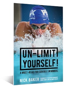peak performance swim camp un-limit yourself book nick baker