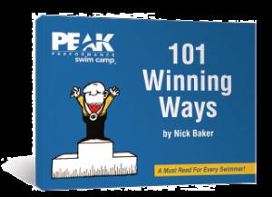 peak performance swim camp 101 winning ways book nick baker